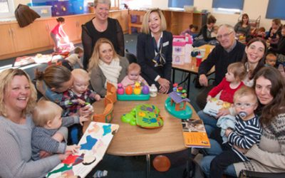 Housebuilder's community chest fund supports local parents