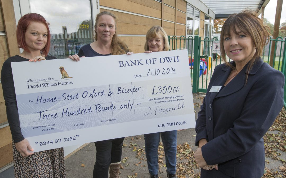 Housebuilder's Community Chest Fund Supports Bicester Families