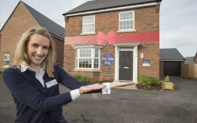 Move Into Your New David WIlson Home In Time For Christmas