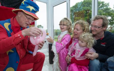Families entertained at David Wilson homes development in Bicester
