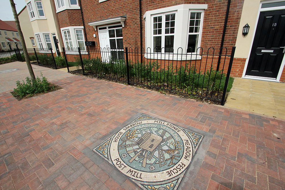 Stepping Into The Past With Pavement Art At Kingsmere