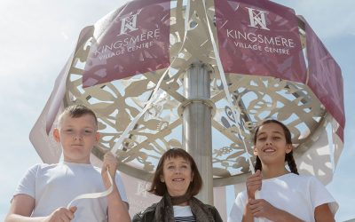 MP Marks Milestone for Kingsmere Community