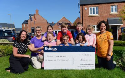 Bellway donates £250 towards new parkrun