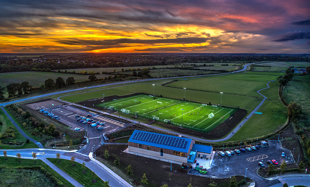 Whitelands Farm Sports Ground: binding Bicester's community through sports and education