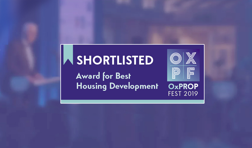 Countryside shortlisted at the Oxfordshire Property Festival Awards