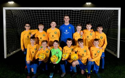 Bardwell Youth Under 11's kick off 2020 with new Kingsmere sponsorship